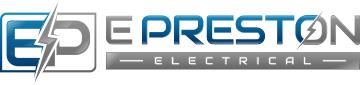 E Preston electrcial logo