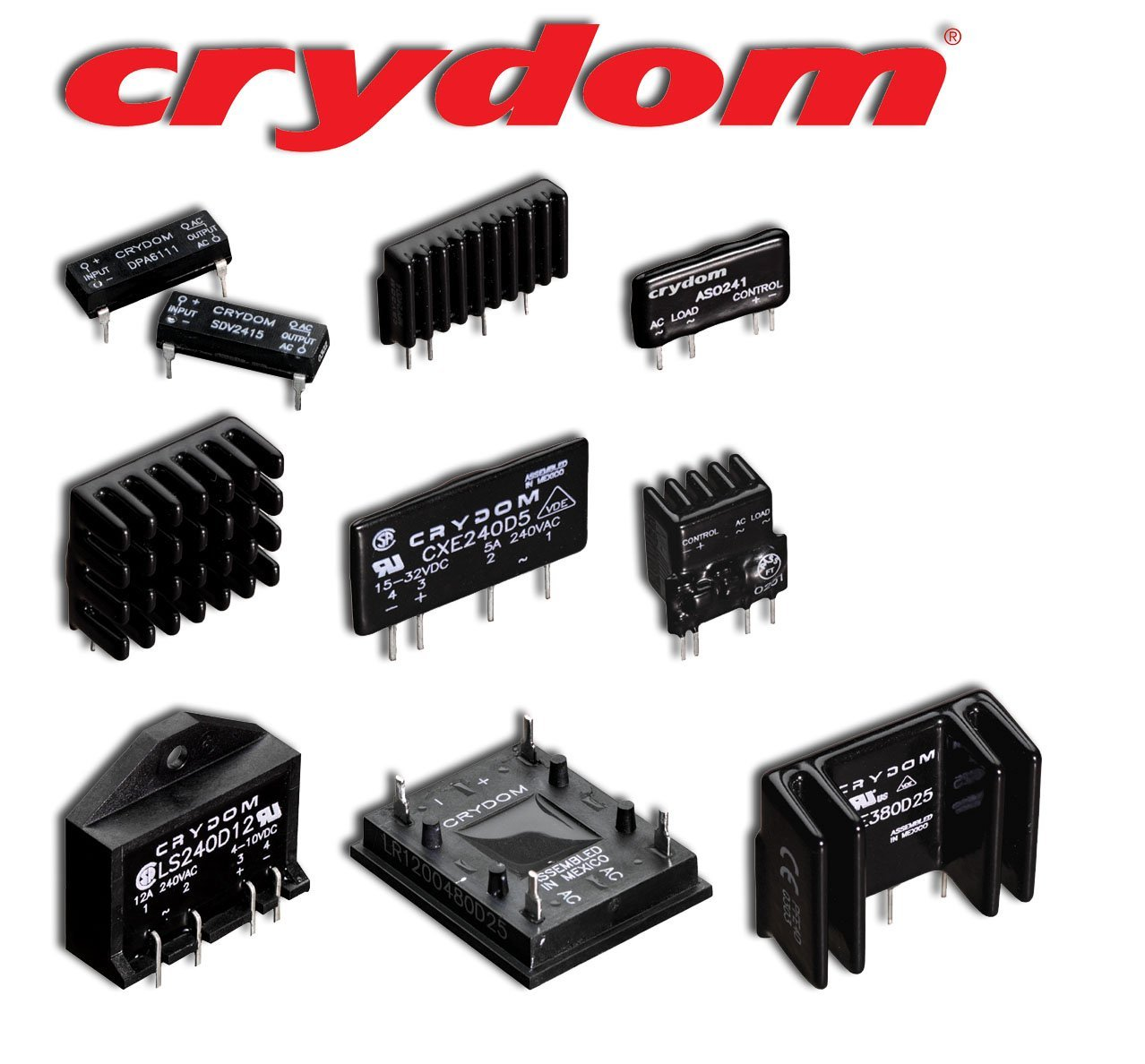 Crydom Pcb Mount Solid State Relays Uk Electrical Distributors E Relay Finder Range1 These Compact