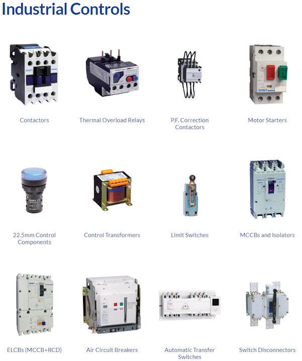 Control gear Direct 4 Pole Isolator
